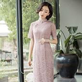 a22.蕾丝旗袍