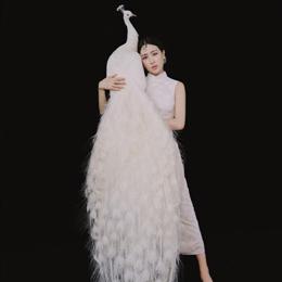 马苏穿旗袍复古优雅,看身材最多20岁!