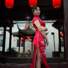 春风十里的旗袍遇上老街,不如醉在扬州秋里…